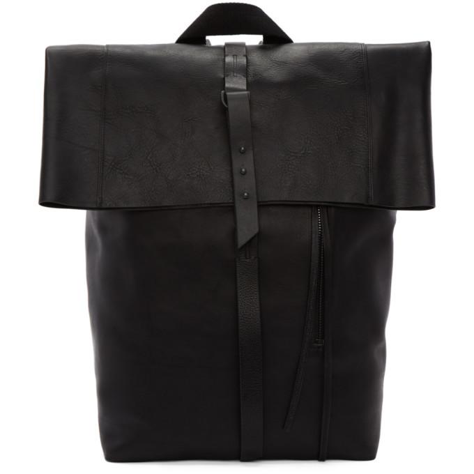 Photo: Isabel Benenato Black Leather Backpack
