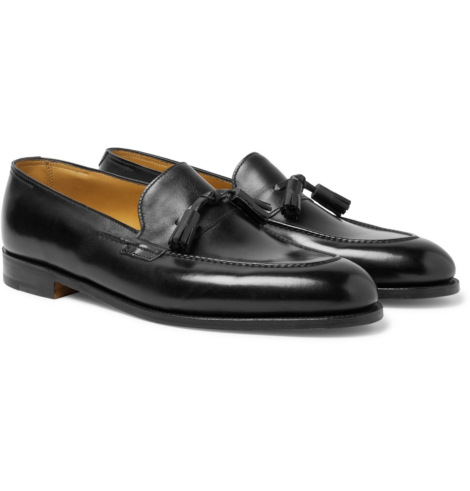 Photo: John Lobb - Callington Museum Leather Tasselled Loafers - Black