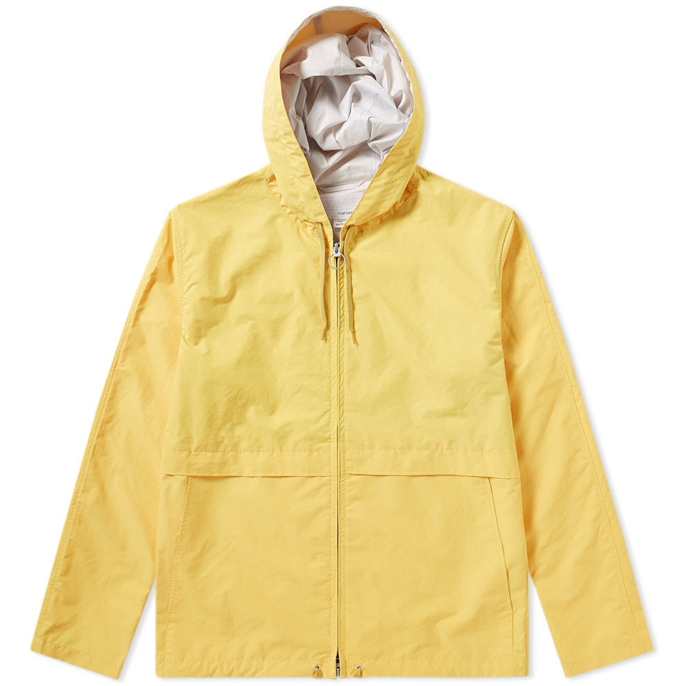 Photo: Nanamica Micro Polyester Taffeta Cruiser Jacket Yellow