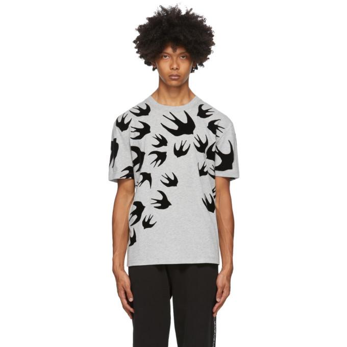 Photo: McQ Alexander McQueen Grey Swallows T-Shirt