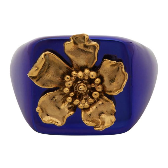 Photo: Jacquemus Blue La Chevaliere Ring