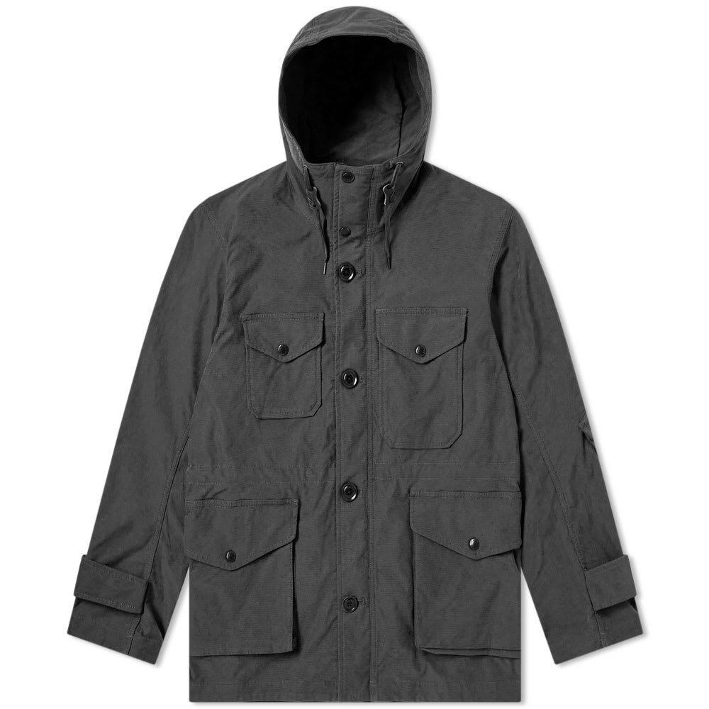 Photo: Nanamica Polyester Nylon Stretch Cruiser Jacket Charcoal