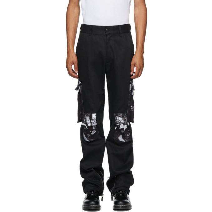 Photo: 424 Black Wu-Tang Cargo Pants