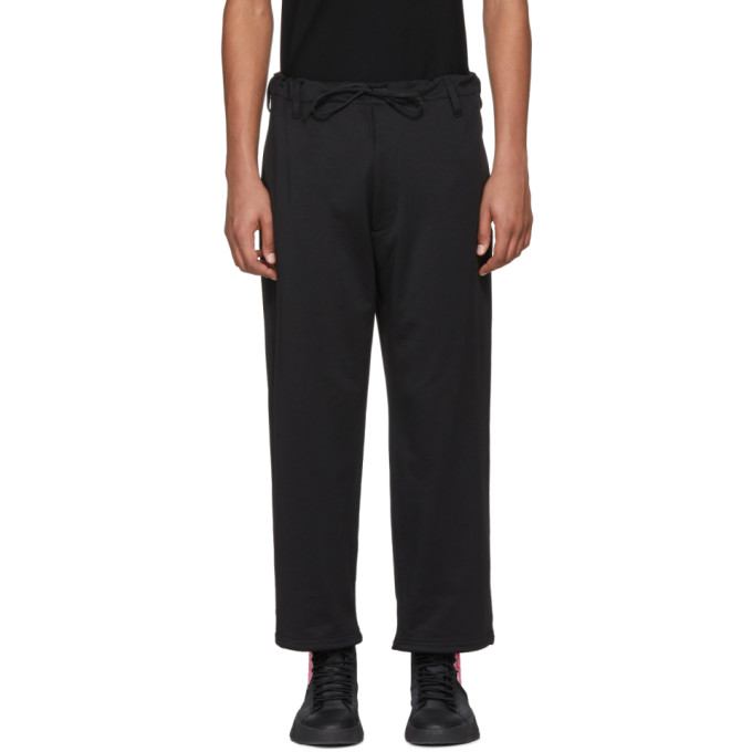 Photo: Y-3 Black James Harden Wide Trousers