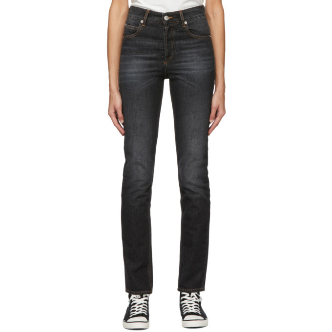 Photo: Isabel Marant Etoile Black Biliana Jeans