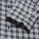 TOM FORD - Rady Slim-Fit Button-Down Collar Checked Cotton-Voile Shirt - Blue