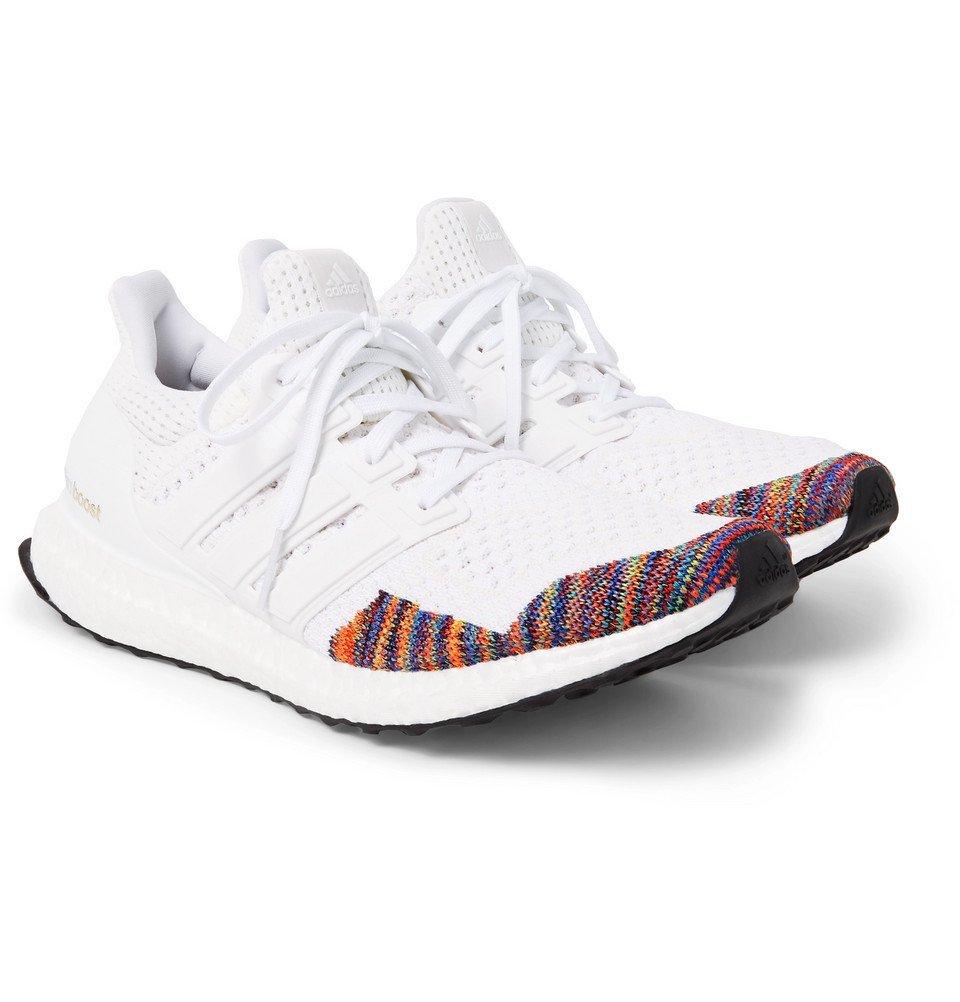adidas Originals - UltraBOOST LTD Rubber-Trimmed Primeknit Sneakers - Men - White