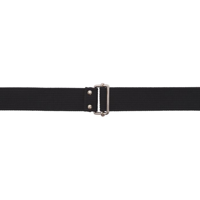 Photo: Balenciaga Black Webbing Belt