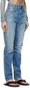 Acne Studios Blue Slim High-Rise Jeans