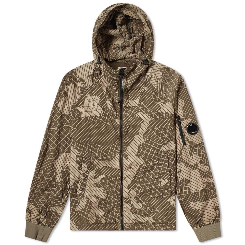 C.P. Company Camo Net Hooded Jacket