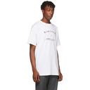 Raf Simons White Big-Fit Diptych T-Shirt