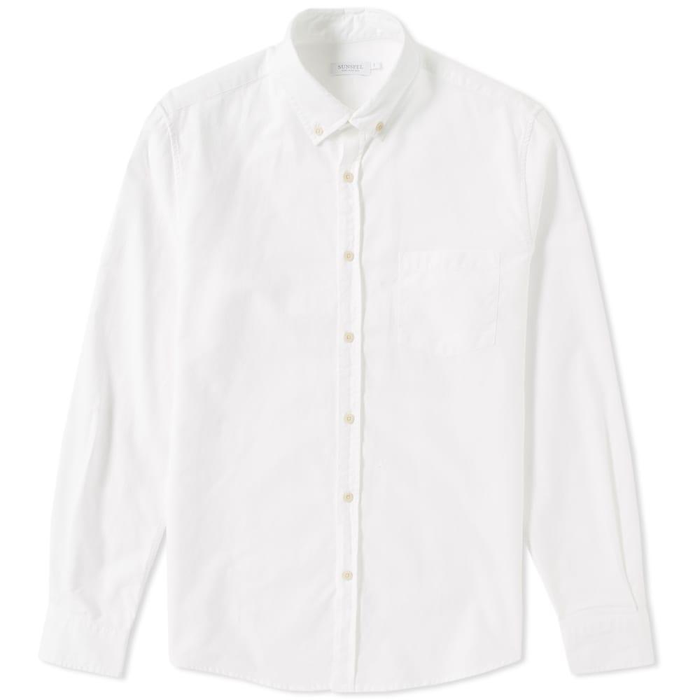 Sunspel Button Down Oxford Shirt