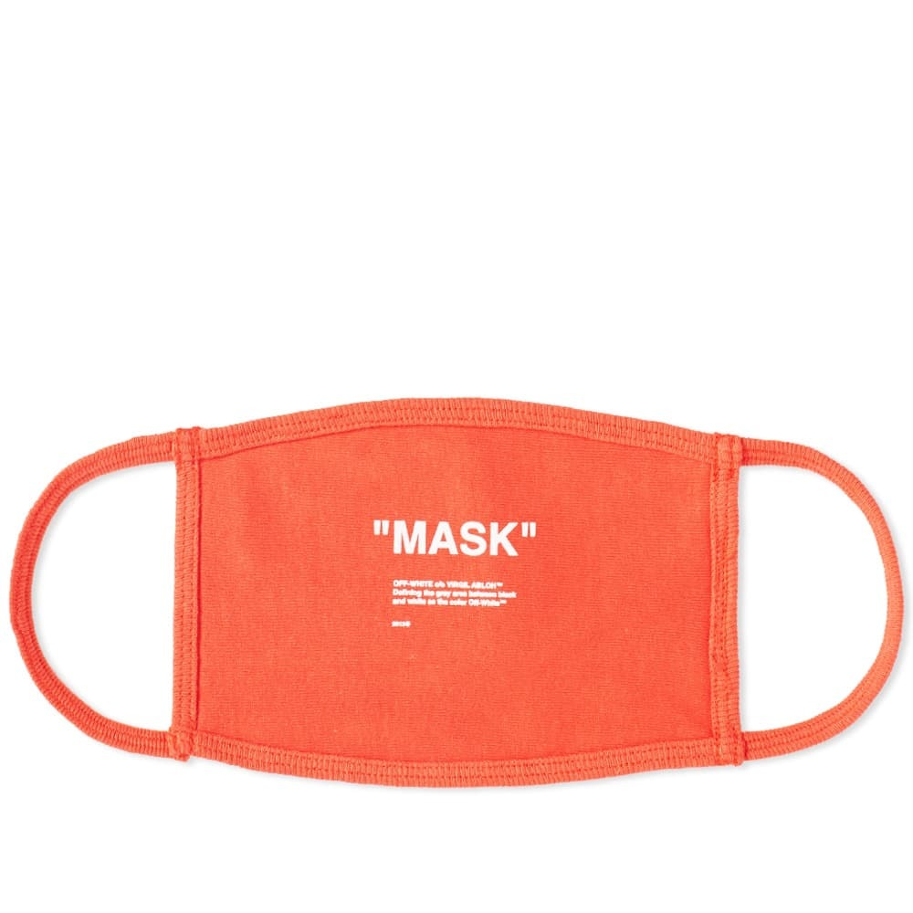 Photo: Off-White Off Mask