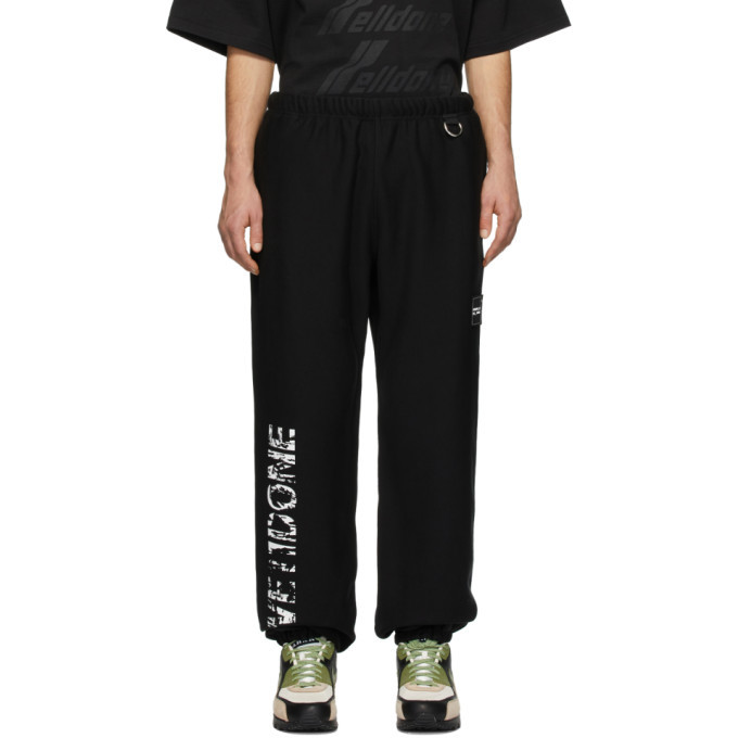 Photo: We11done Black D-Ring Lounge Pants