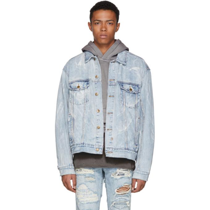 Ksubi Blue Oh G Denim Jacket