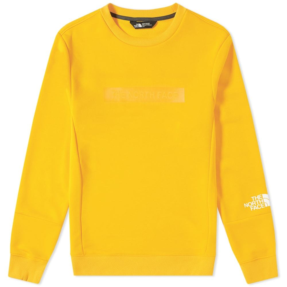 Photo: The North Face Light Crew Sweat Zinnia Orange