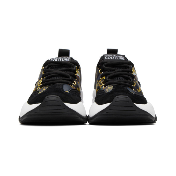 Versace Jeans Couture Black Extreme Sneakers