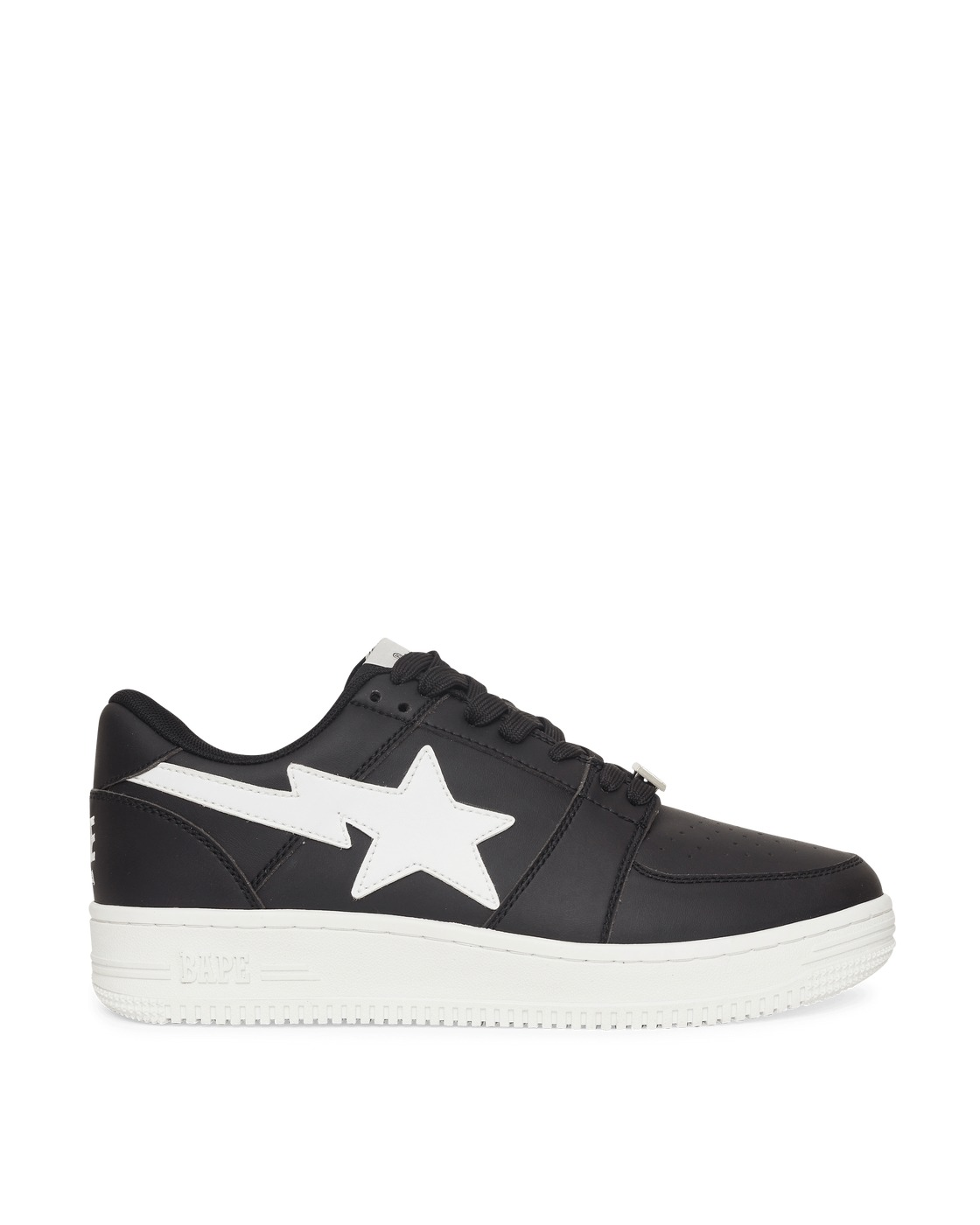 Photo: A Bathing Ape Bape Sta Low Sneakers Black