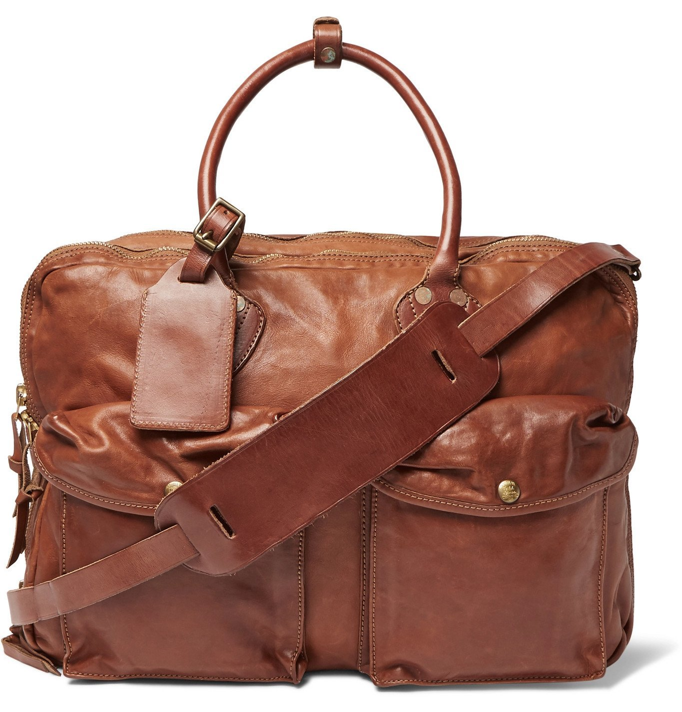 Photo: RRL - Leather Holdall - Brown