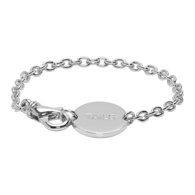 Photo: A.P.C. Silver Heads and Tails Bracelet