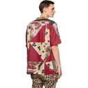 Sacai Multicolor Hank Willis Thomas Edition Mix Print Archive Short Sleeve Shirt