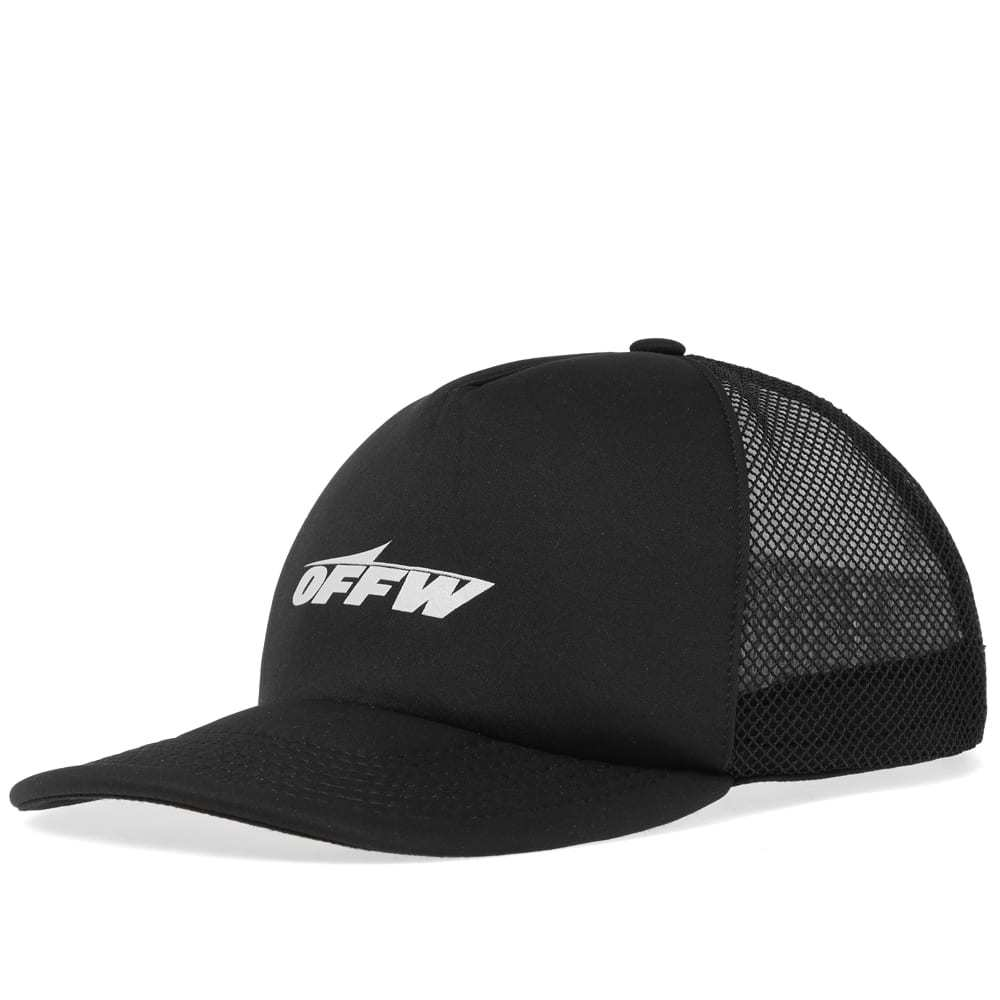 Photo: Off-White Wing Off Trucker Hat