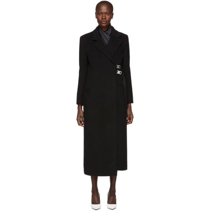 Alyx Black Wool Statesman Coat