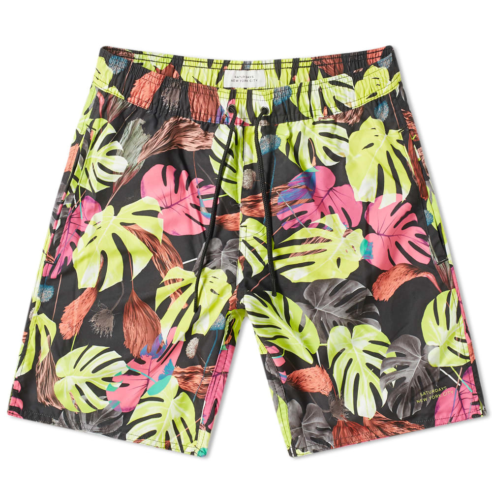 Photo: Saturdays NYC Timothy Monstera Swim Short