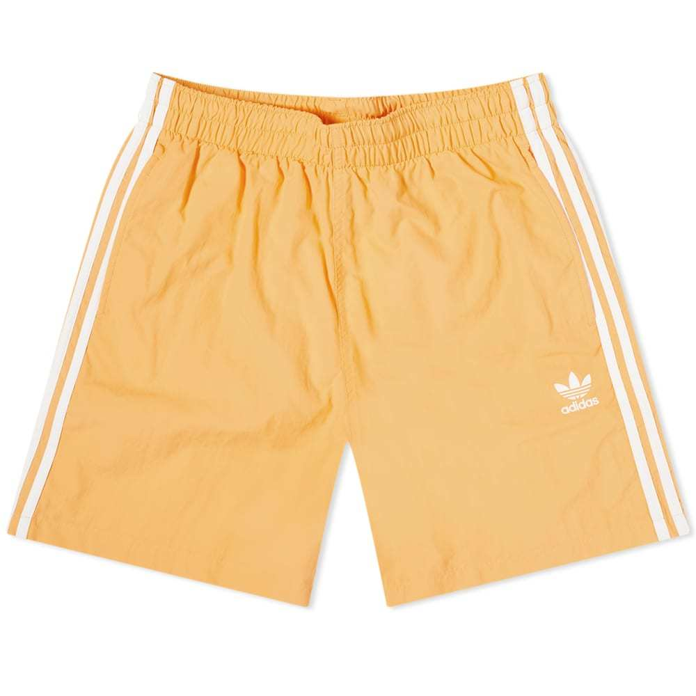 Photo: Adidas 3-Stripe Swim Shorts