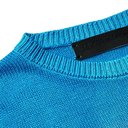The Elder Statesman - Tie-Dyed Silk Sweater - Turquoise