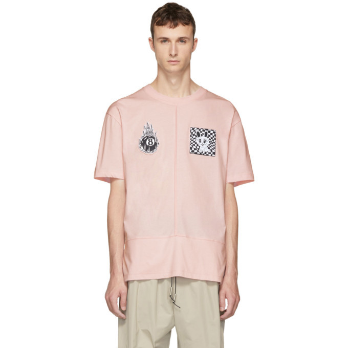 Photo: McQ Alexander McQueen Pink Rev Upcycled T-Shirt