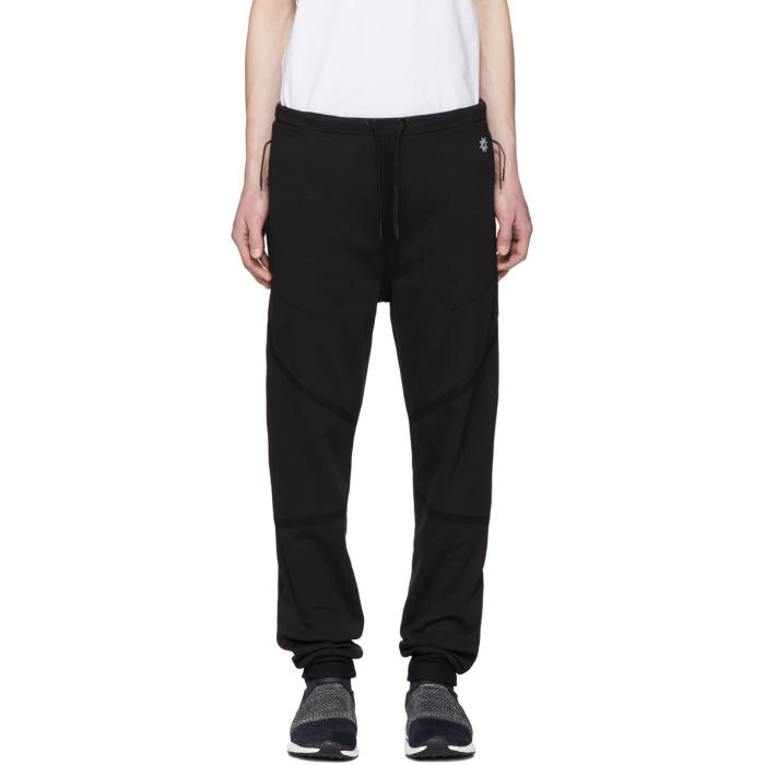 Photo: ISAOR Black Taped Quick Dry Lounge Pants