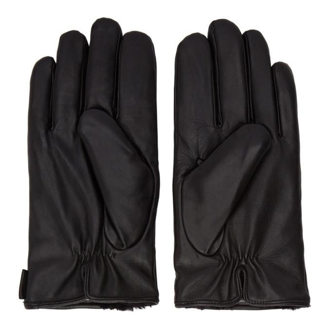 Photo: Tiger of Sweden Black Geron Gloves