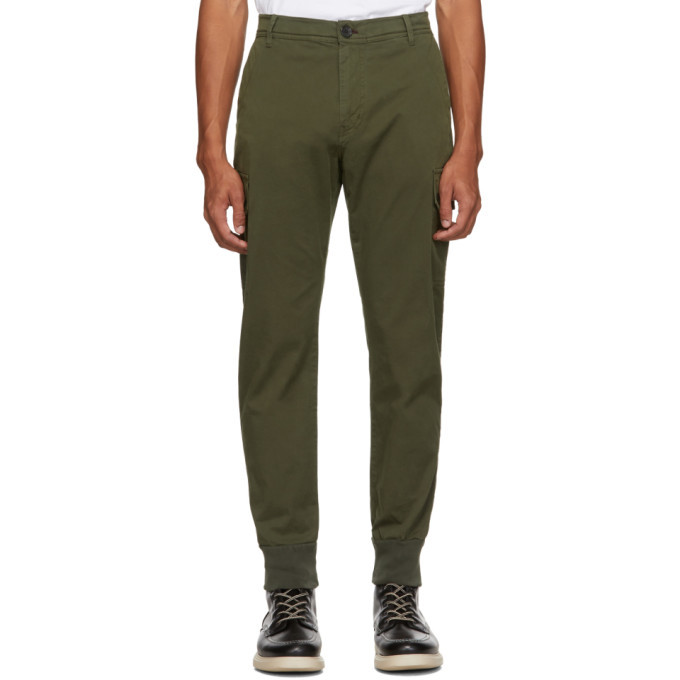 Photo: PS by Paul Smith Green Military Cargo Pants