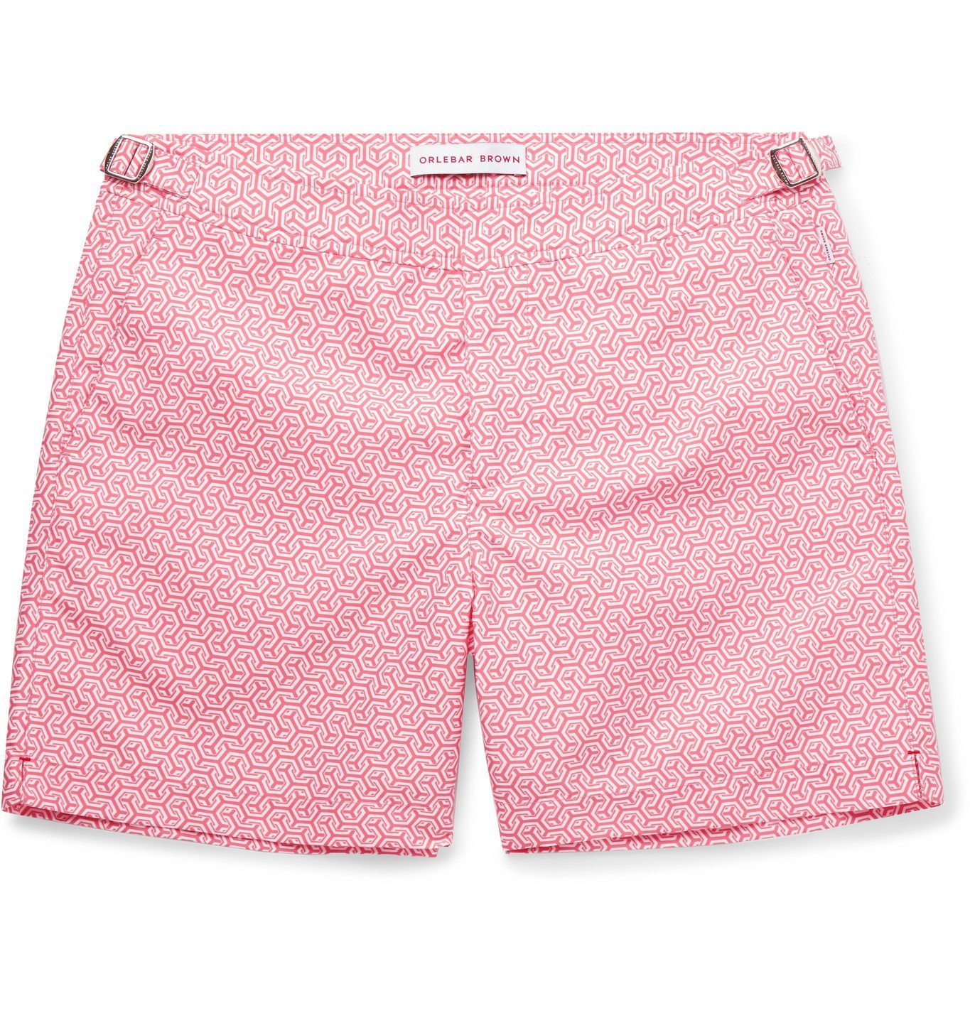 Photo: Orlebar Brown - Bulldog Printed Shell Swim Shorts - Pink