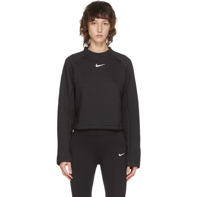 Photo: Nike Black NSW Tech Fleece Sweatshirt