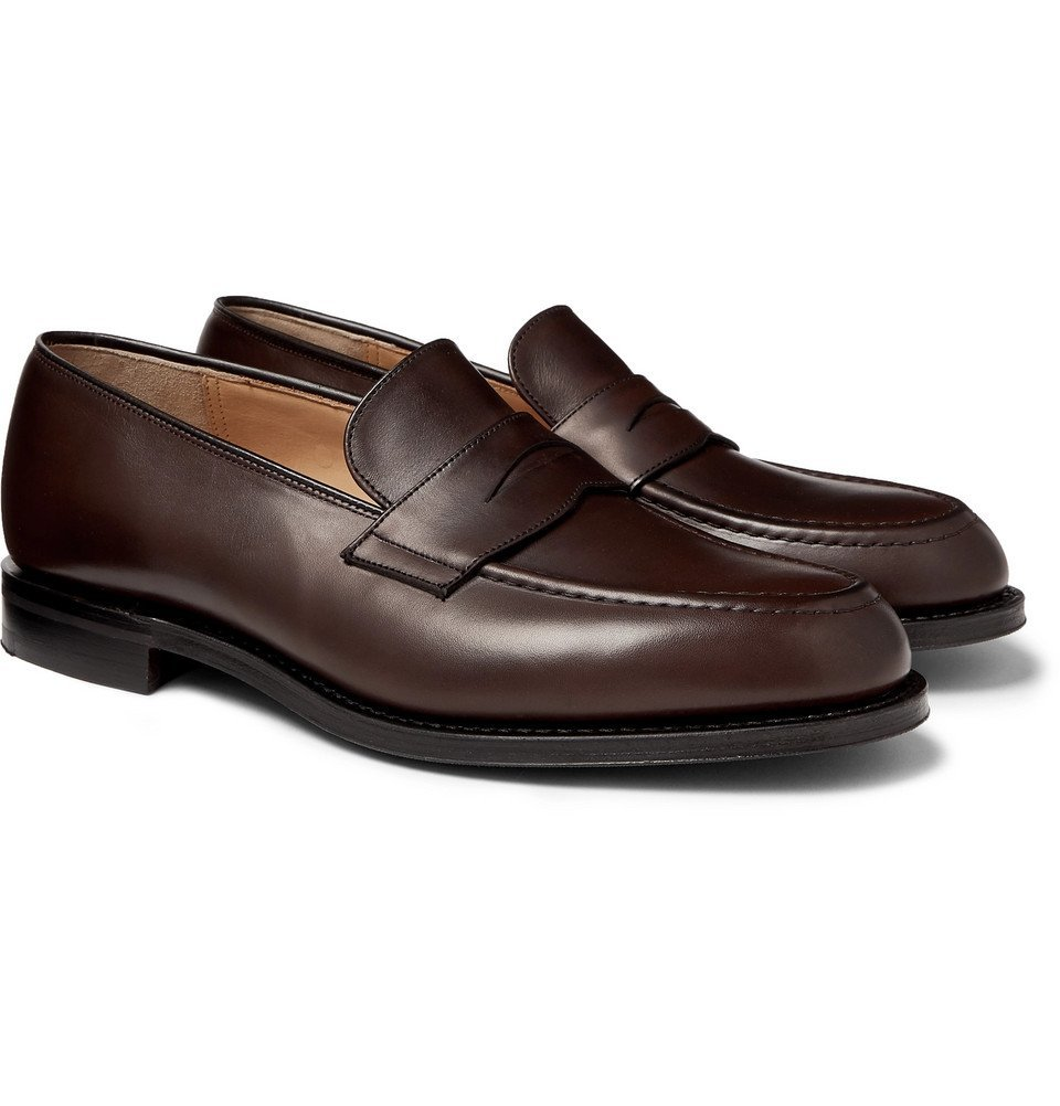 Photo: Church's - Netton Polished-Leather Penny Loafers - Brown