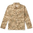 RRL - Harrison Camouflage-Print Cotton-Ripstop Jacket - Green