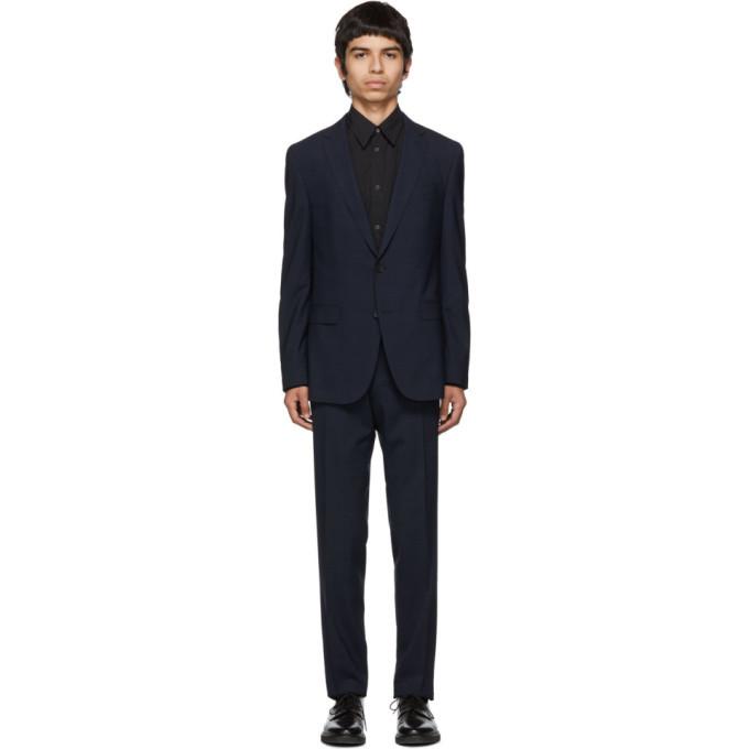 Photo: Boss Blue Virgin Novan Ben Check Suit