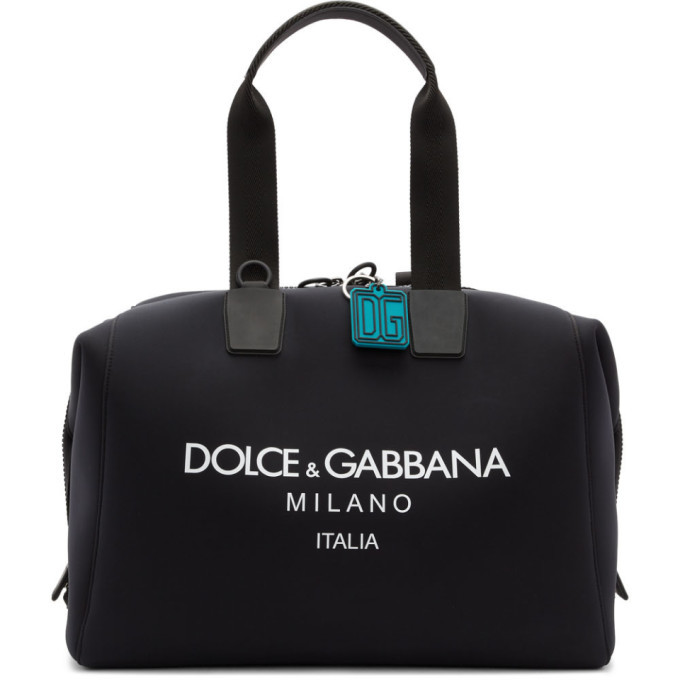 Photo: Dolce and Gabbana Black Technical Palermo Bag