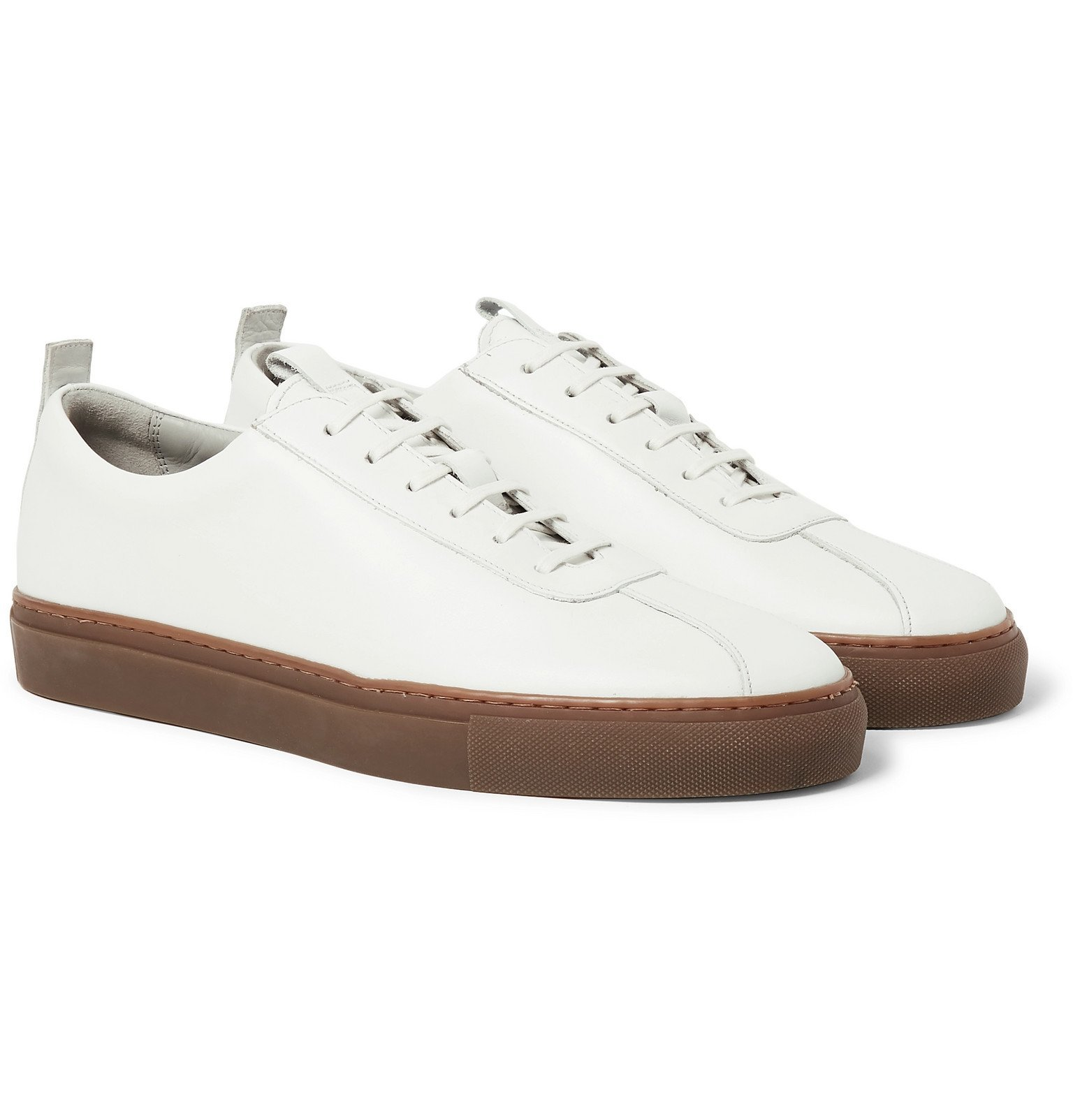 Photo: Grenson - Leather Sneakers - White