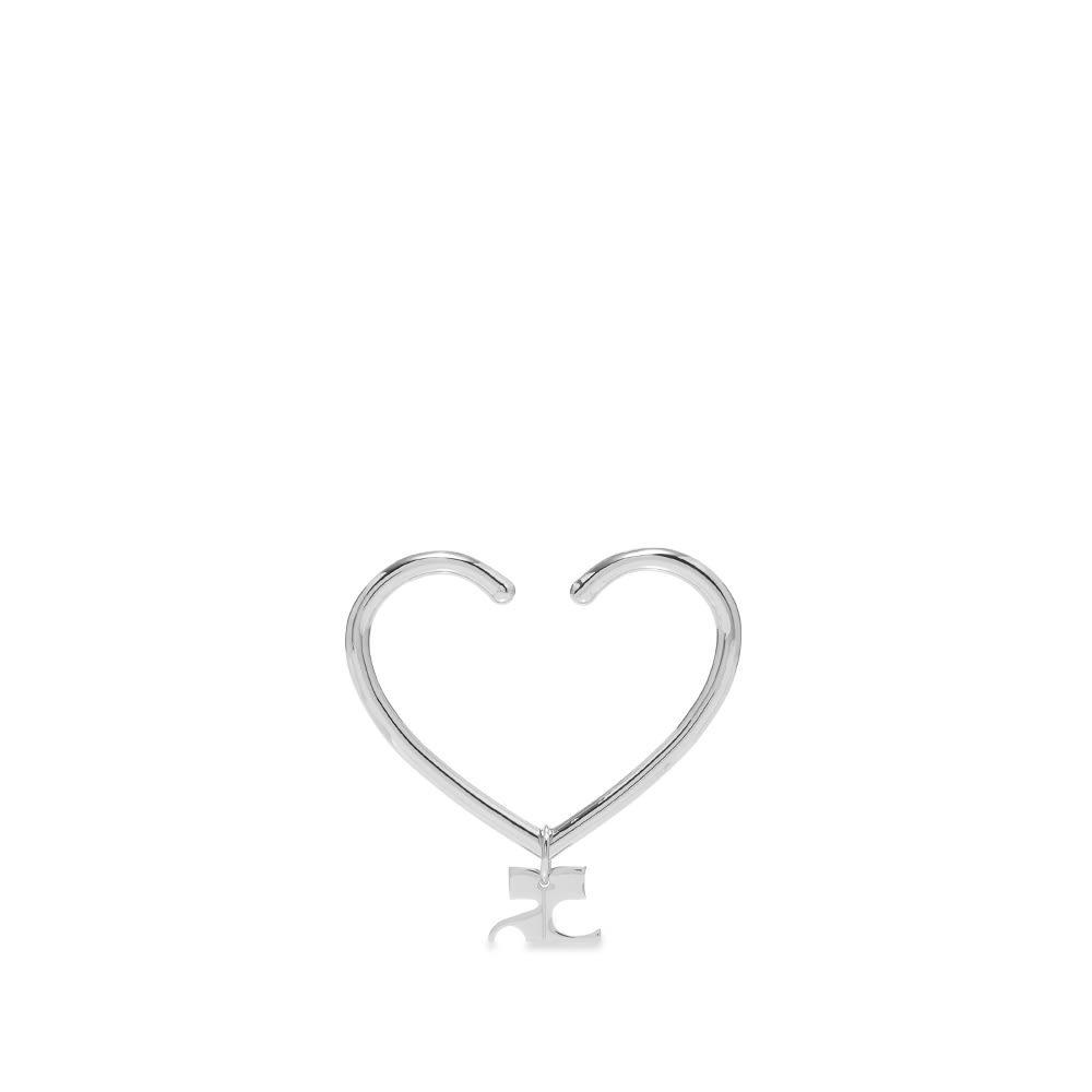 Photo: Courrèges Heart Logo Ear Cuff