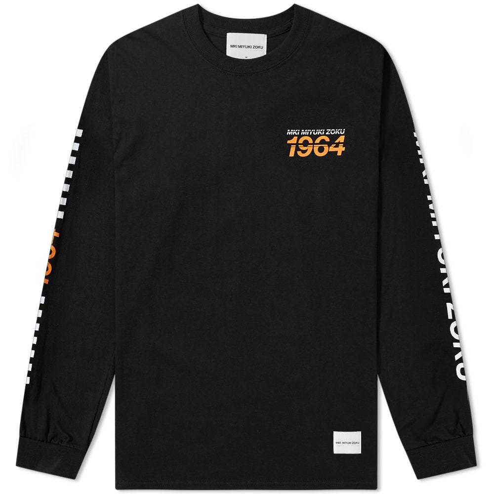 Photo: MKI Long Sleeve Racing Tee Black
