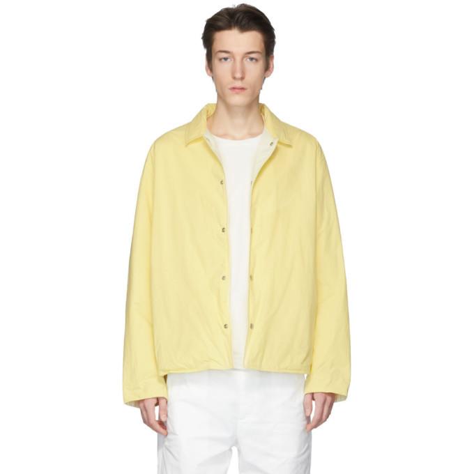 Photo: Jil Sanderand Reversible Yellow Puffer Jacket