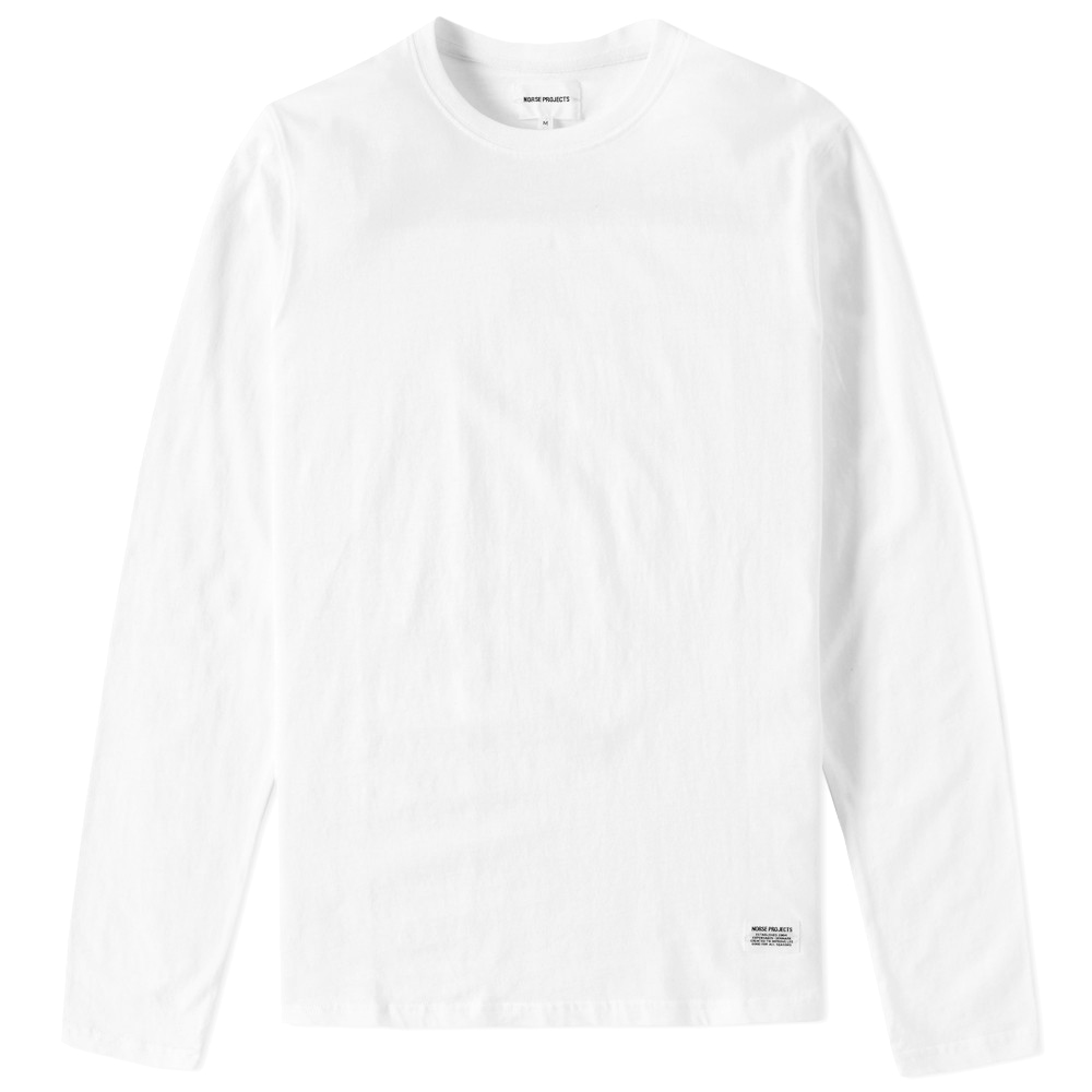 Photo: Norse Projects Long Sleeve Niels Basic Tee