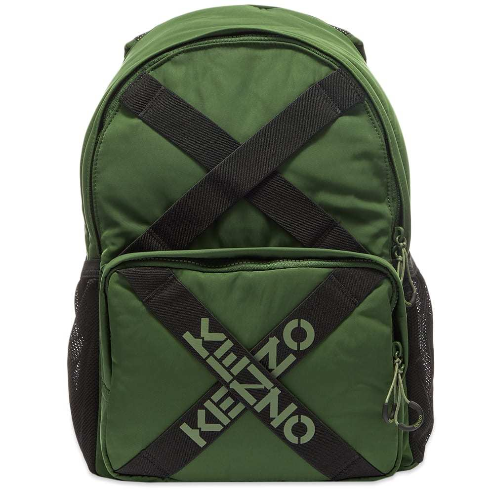 Photo: Kenzo Taped Logo Backpack