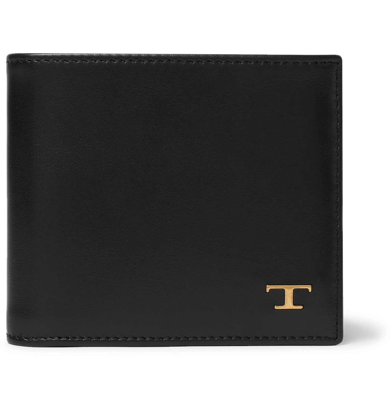 Photo: Tod's - Leather Billfold Wallet - Black