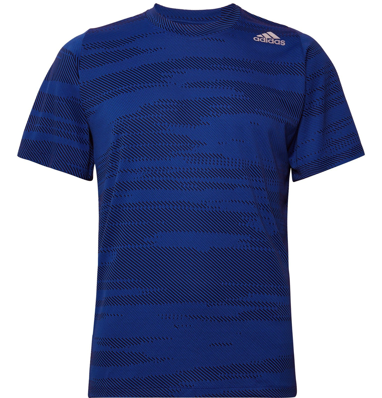 Photo: Adidas Sport - FreeLift Climalite-Jacquard T-Shirt - Blue