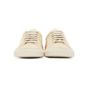 Common Projects Tan Suede Contrast Achilles Low Sneakers