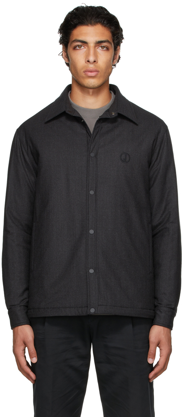 Photo: Dunhill Grey Insulated D Series Overshirt